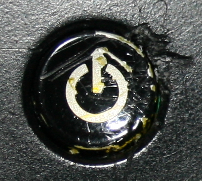 bad Dell button
